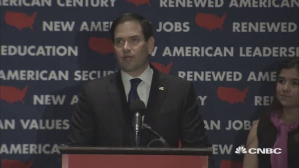 Rubio quits presidential race