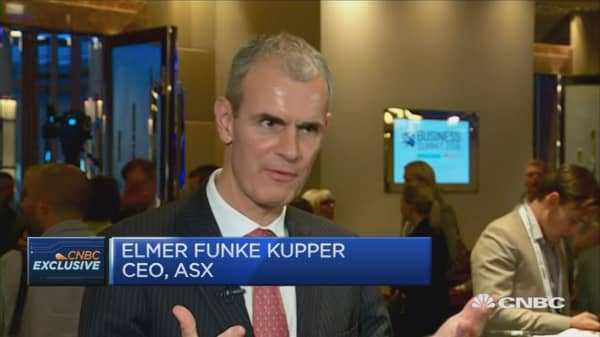Risk taking the 'only way' to secure long term future: ASX