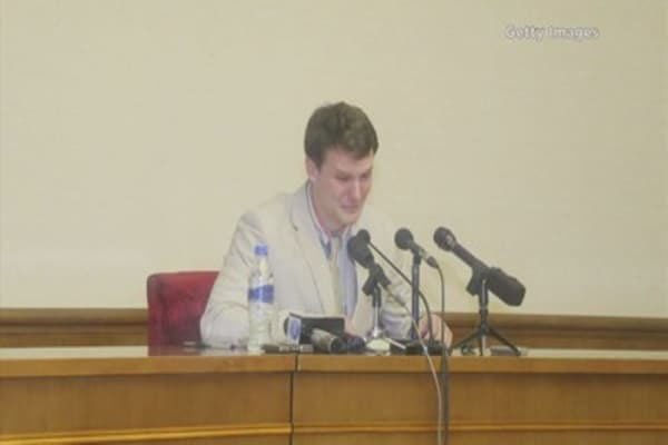 US tourist gets a 15 year prison sentence in North Korea