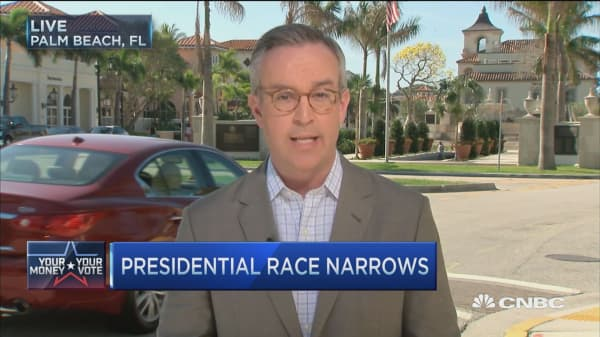Presidential race narrows