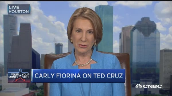 Fiorina: GOP should unite behind Ted Cruz