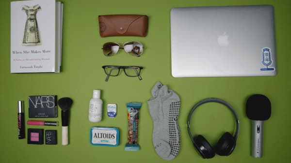 What do you bring when you travel with billionaires?