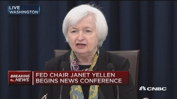Yellen: Expect 2% inflation target reached 2-3 years