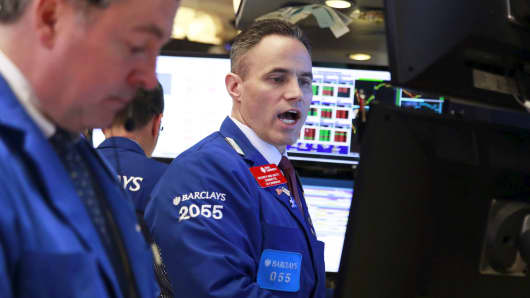 Dow slips 100 points as tensions with N Korea escalate