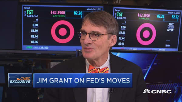 Jim Grant on Fed's move
