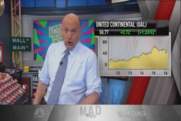 Cramer: United Continental activists ridiculous