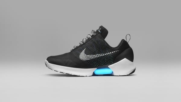 The Nike Hyperadapt 1.0 is the first mass-produced power lacing shoes by the sportswear giant.