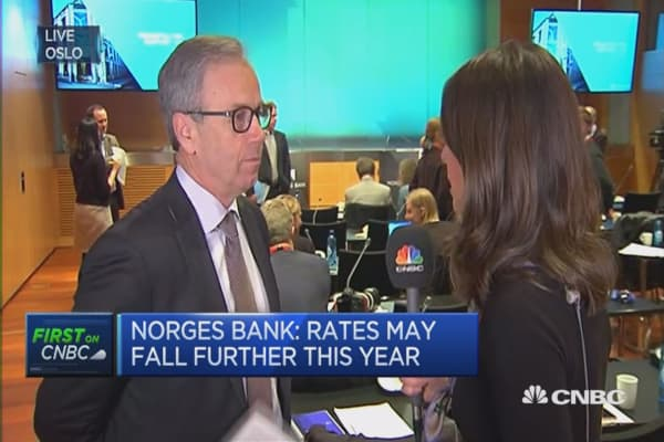 Possible to go below zero: Norges Bank