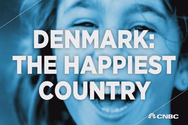 Which country is the Happiest?