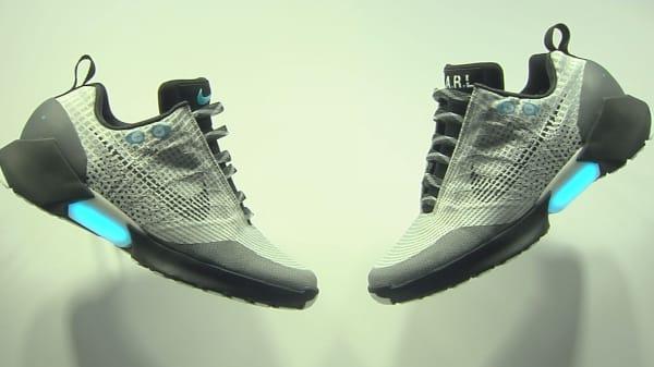 Nike introduces HyperAdapt 1.0 'self-lacing' sneaker