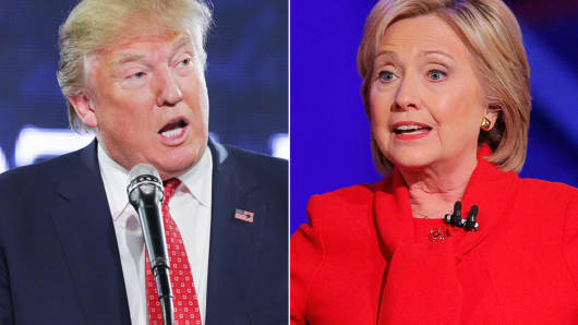 donald trump vs hillary clinton the candidate who 39 stinks less 39 will win commentary. Black Bedroom Furniture Sets. Home Design Ideas