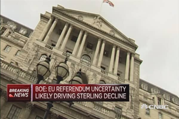 Bank of England holds rates