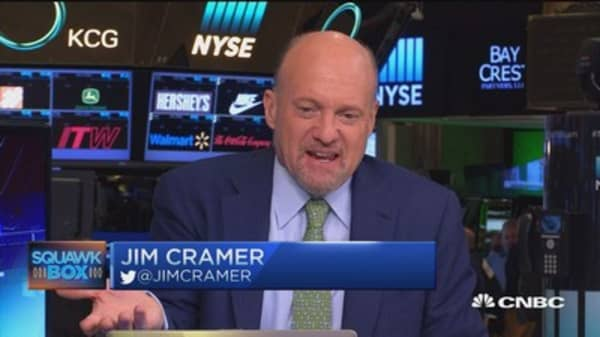 Cramer: I'm with Trump on trade