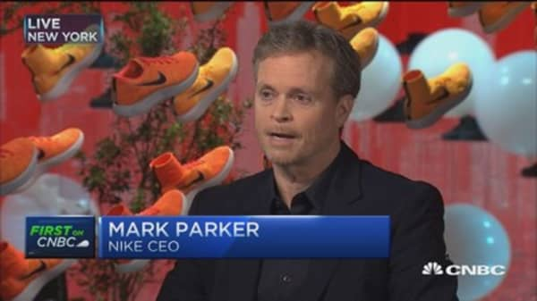 Nike CEO: Adaptive performance technology is the future