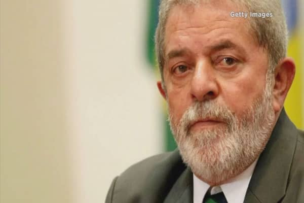 Brazil names Lula da Silva chief of staff