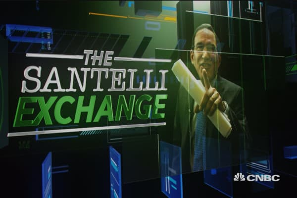 Santelli Exchange: 'Long' rates with 'less' tightening