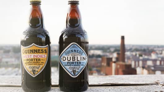 Guinness West Indies Porter and Dublin Porter