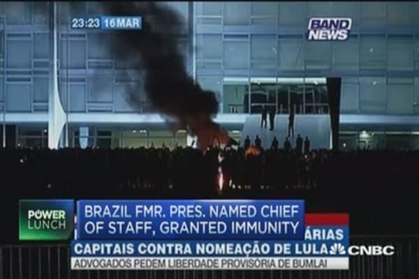 Brazil president impeachment positive for markets: Pro