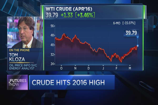 Oil could hit $50 this year