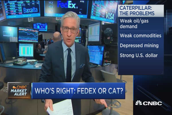 Who's right: FDX or CAT?