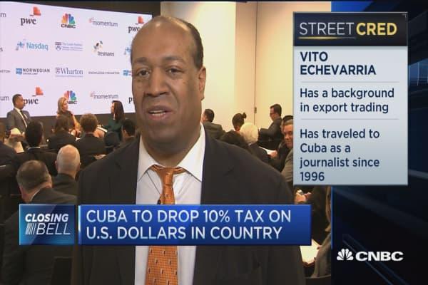 Chasing opportunities Cuba
