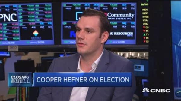 Cooper Hefner: Why millennials should not vote for Trump!