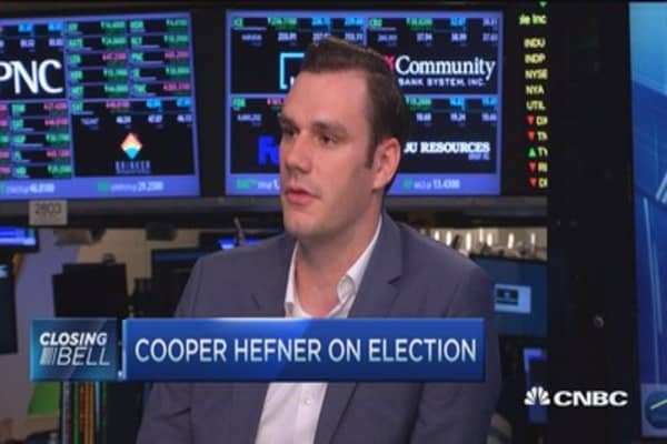 Cooper Hefner: Why millennials should not vote for Trump!