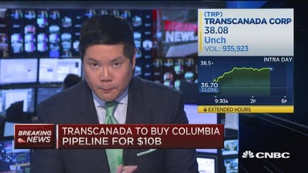 Transcanada to buy Columbia pipeline for $10B