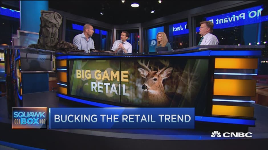 Big game retail bucking the trend