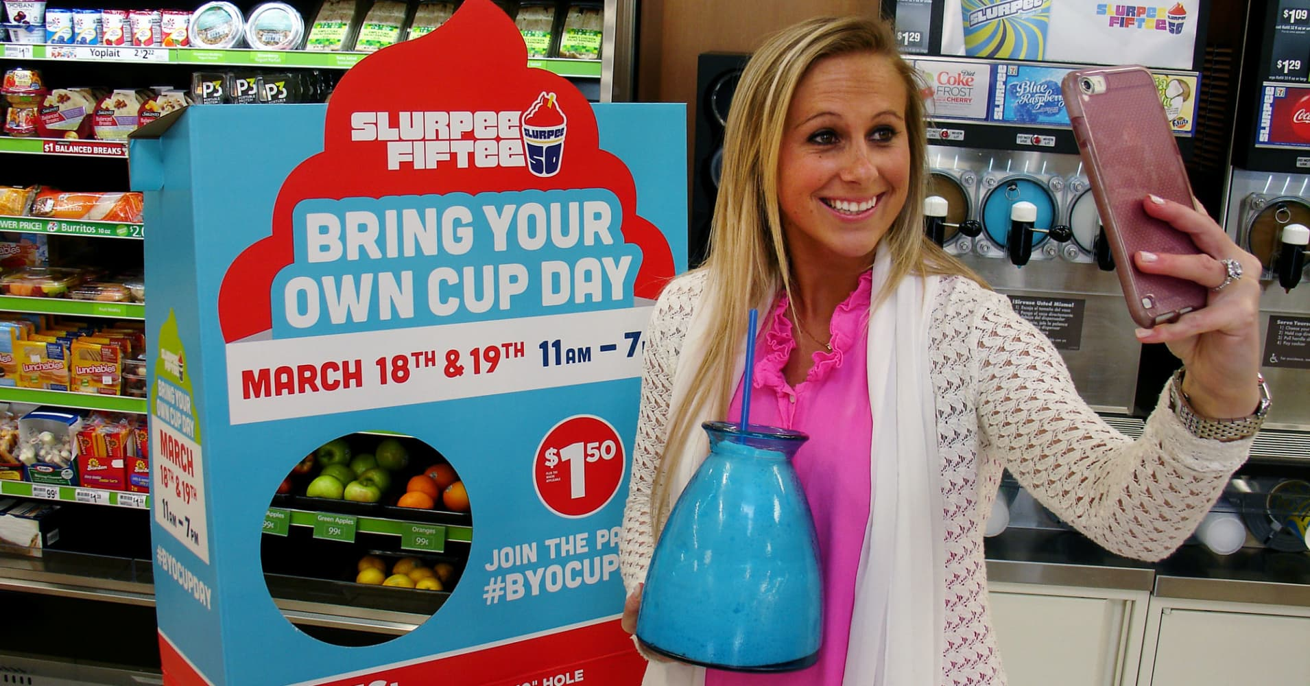 Byocup Fill It With 7 Eleven Slurpee