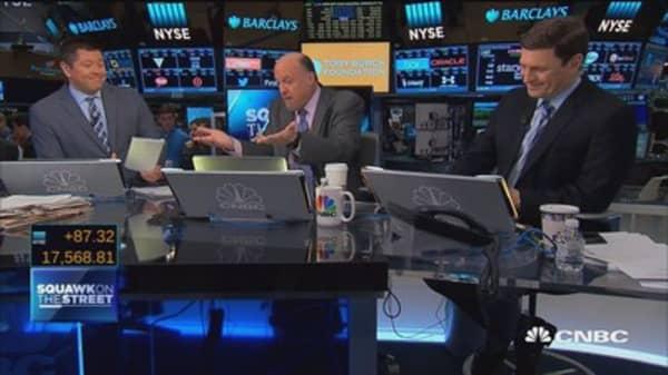 Jim Cramer's March Madness picks