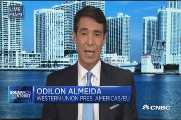 Money into Cuba fosters new business: WU Americas pres.