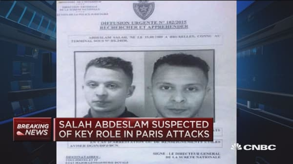 Police arrest prime suspect in Paris attacks