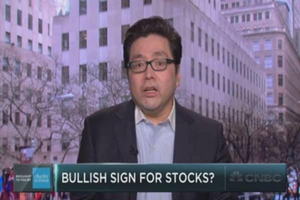 Tom Lee on the rise in short interest