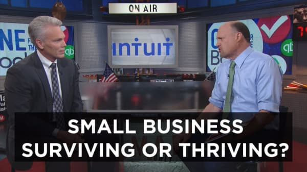 CEO to Cramer: Fighting for small business