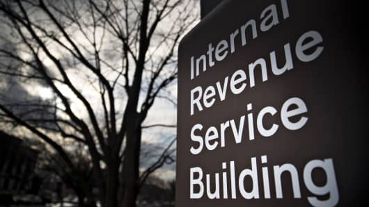 IRS headquarters in Washington.