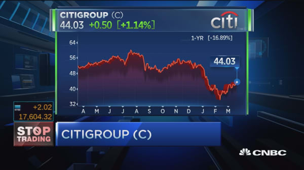 Cramer's Stop Trading: Citigroup