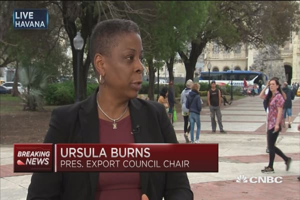 Xerox CEO on Cuba: Still barriers for full bilateral trade