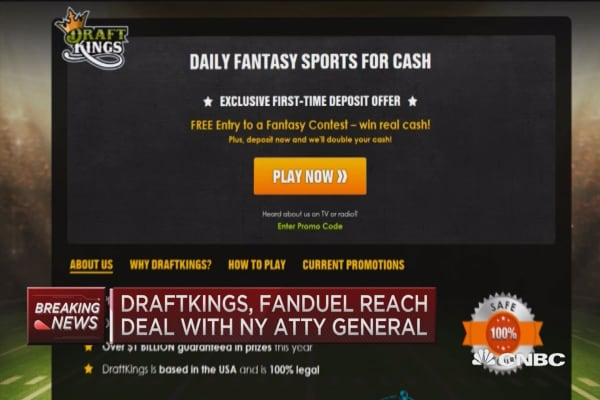 FanDuel, DraftKings stop paid contests in New York