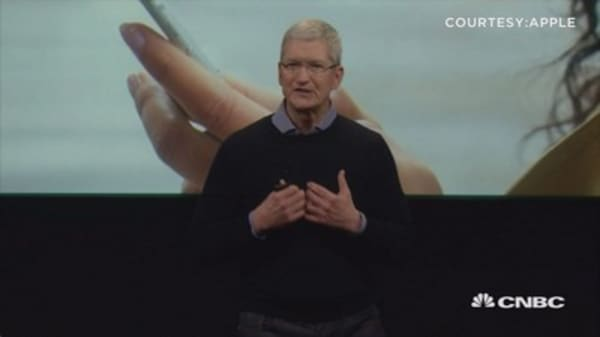 Tim Cook: We're grateful for support over encryption fight