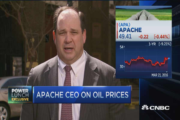 Apache CEO: How every move in oil impacts us