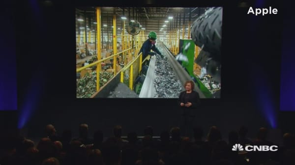 Apple pushes environment with Liam, Renew