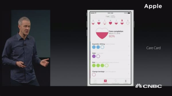 Apple launches CareKit app suite
