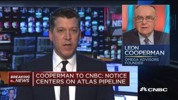 Cooperman to CNBC: We've done nothing wrong