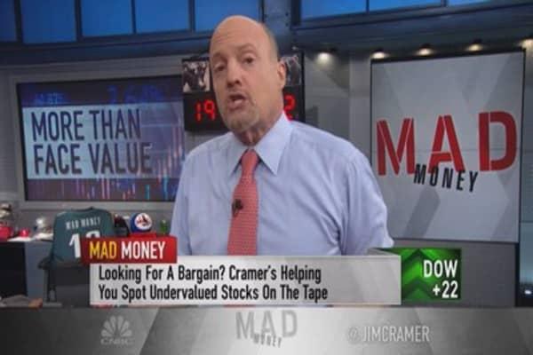 Cramer: Stocks are incredibly undervalued