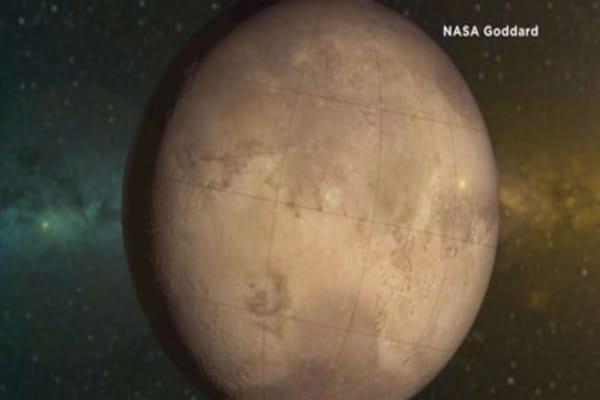 NASA releases new Mars info