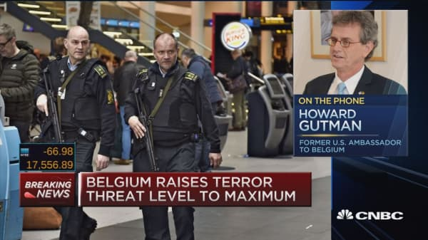 GPI in 2015 shows Belgium 14th safest country