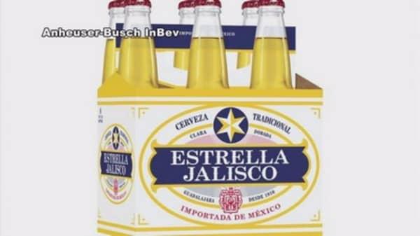 Anheuser-Busch bringing Mexico's Estrella Jalisco to US