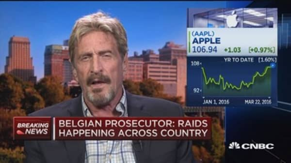 McAfee: We have the technology for cybersecurity solutions