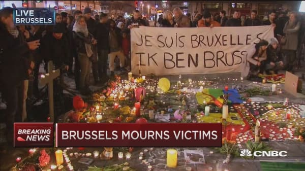 Brussels mourns victims